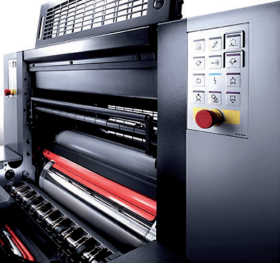 sharp designs with precise colour printing